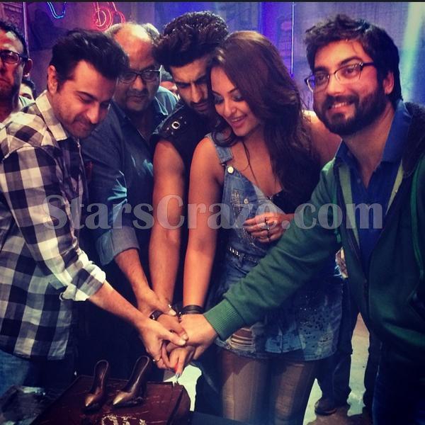 Arjun Kapoor And Sonakshi Sinha Wrap Final Shooting Schedule Of Tevar   StarsCraze