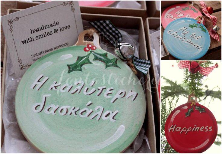 Christmas ball ornaments!
