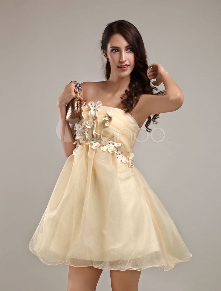 #Milanoo.com Ltd          #Homecoming Dresses       #Modern #Champagne #Strapless #Tulle #A-line #Womens #Homecoming #Dress       Modern Champagne Strapless Tulle A-line Womens Homecoming Dress                                         http://www.snaproduct.com/product.aspx?PID=5682580