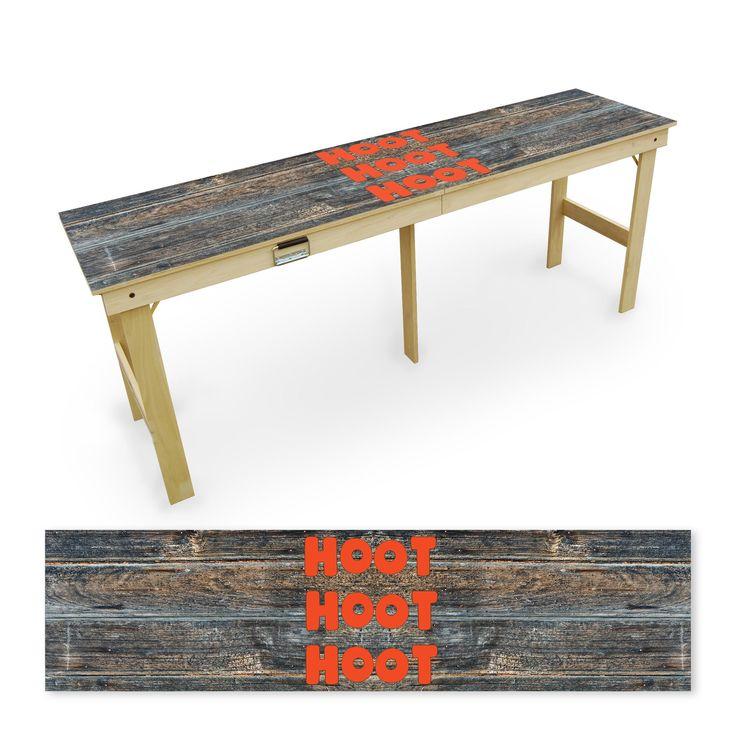 Hoot Hoot Hoot Tailgate Table