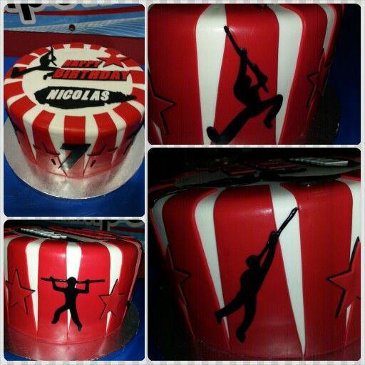 American Ninja Warrior cake | Honey Bee Sweets | Pinterest ...