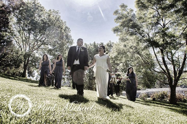 The bridal party. New Zealand #wedding #photography. PaulMichaels of Wellington www.paulmichaels.co.nz