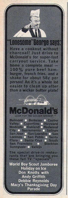 McDonald's ad, 1967