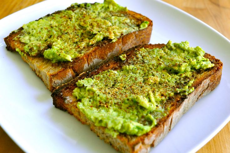 Our favorite breakfast!  Sourdough wheat bread toasted, light butter, smashed avocado, and light salt and pepper.  With cheesy eggs on the side.: Sausages, Good Things, Sea Salt, Vegan Biscuits, Avocado Toast, Sausage Gravy, Pride Parade, Black Pepper