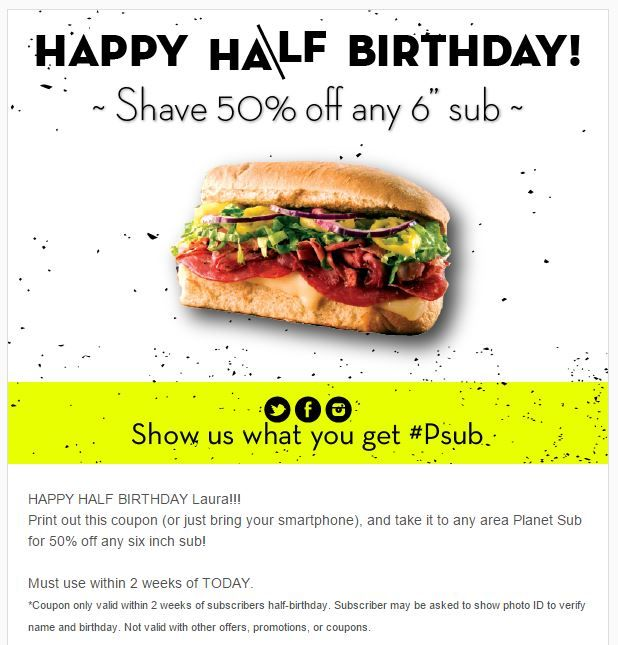 16 best Birthday Emails images on Pinterest Birthday email