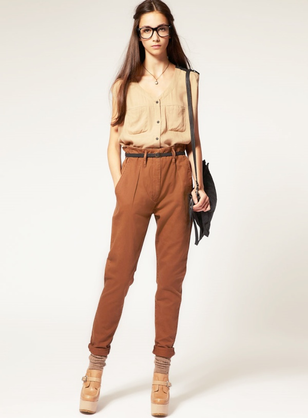 Boy, I sure do want some high waisted trousers.