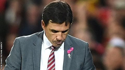"""Chris Coleman succeeded the late Gary Speed as Wales boss  Wales manager Chris Coleman is """"not thinking about"""" his future after they failed to qualify for the World Cup.  Monday's 1-0 home defeat by the Republic of Ireland ended Welsh hopes of reaching the 2018 finals in Russia. Coleman 47 had previously said this campaign would be his last in charge but says he is yet to decide whether he will stay in the post he took in 2012. """"The whole nation will be mourning and disappointed"""" he said…"""
