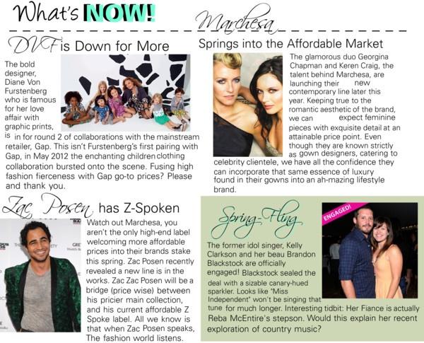 Fashion news March 2013