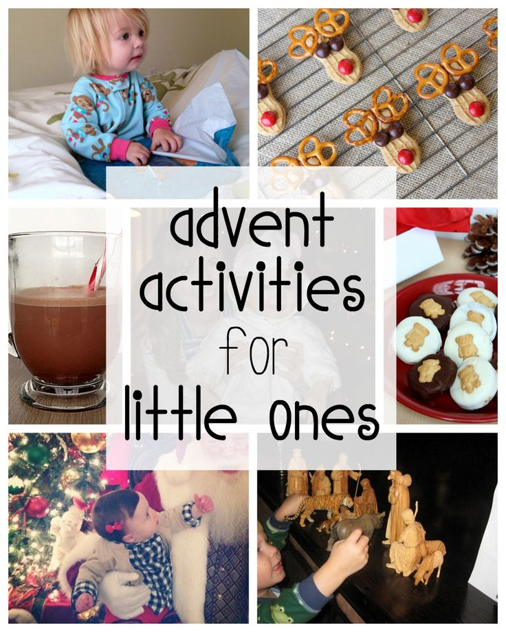 Advent activities for babies and toddlers