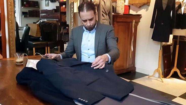 Verbeteringen aan een Myer & Mortimer broek, Zegna pak en een Cashmere Colbert.  Als kleermaker zijn we dagelijks bezig met het vermaken en verstellen van bestaande kledingstukken. Dit zo dat ze weer aansluiten bij de wensen van de klant. Je smaak en je maten kunnen veranderen over verloop van tijd en waarom zou je dan je kleding niet meer dragen? Vaak loont het de moeite om nog eens bij de #kleermaker langs te gaan om zaken aan te laten passen.