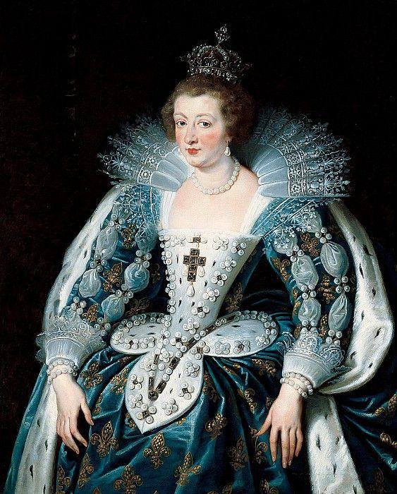 Анна Австрийская, королева Франции. Питер Пауль Рубенс. Описание картины.