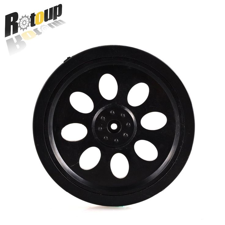 Rotoup 705 Rubber Tires trye Wheels 70.5*10.8*3mm Rim Steering Wheel for Arduino Smart robot 360 degree RC Toys Car #RBP034