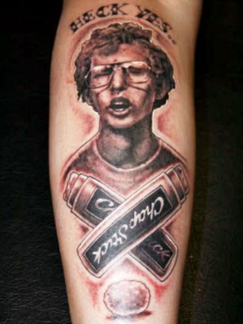 Napolean Dynamite We're sure Jon Heder would be flattered, but not so