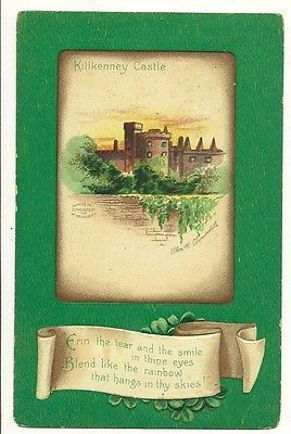 Ellen Clapsaddle Killkenney Castle St Patricks Day Irish  Postcard
