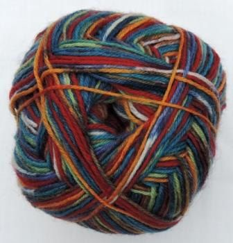 Hot Socks Stripes 4-fach superwash - Parrot stripes 1661-611, 75% Merino superwash by ColorfullmadeShop on Etsy