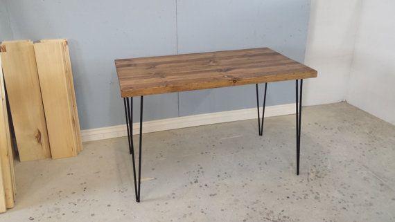 Small Dining Table / Reclaimed Wood Desk / Computer Desk / Barn Board Table / Laptop Desk