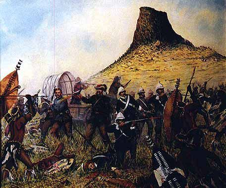 The Zulu War ~ The last stand of Lieutenant Colonel Durnford and his men at the Battle of Isandlwana