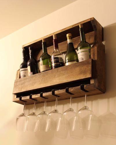 Las 25 mejores ideas sobre estante de copas de vino en - Estantes para vinos ...