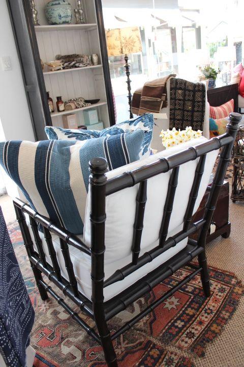 Lynda Kerry Interior Design, Hamptons, American style, decorating, blue and white