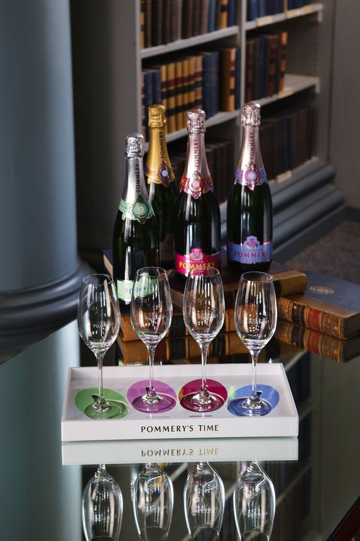Pommery Champagnes are fresh, elegant, lively & palate-stimulating! Pommery is also the only champagne house that offers seasonal champagnes - you can try them at our Pommery Bar within the Signet Library!