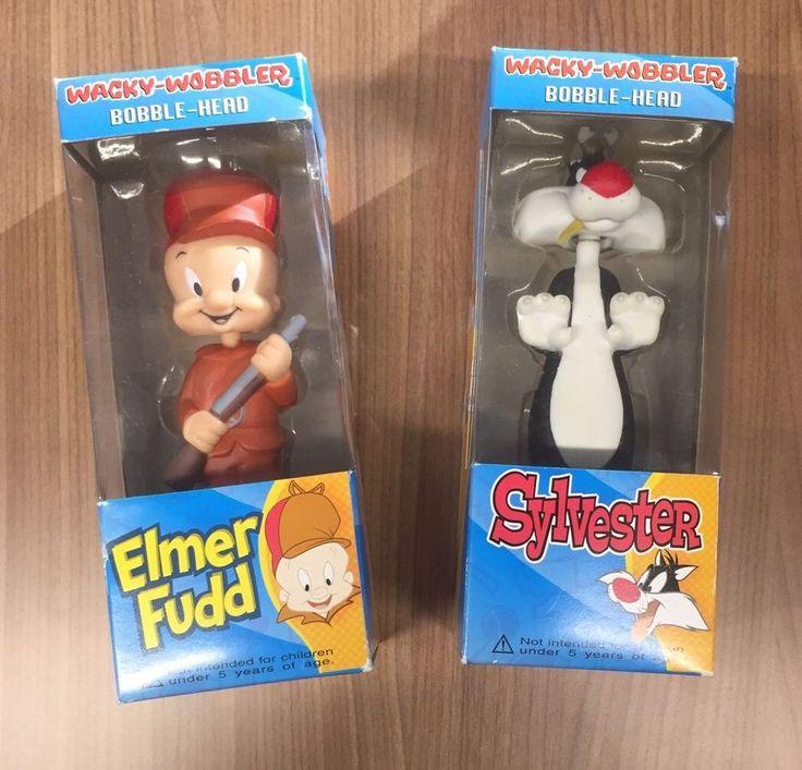 Funko Elmer Fudd And Sylvester Wacky-wobbler Bobble Head Looney Tunes Warner  | eBay