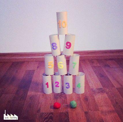 MiniFactory: Riciclattoli - rotoli di carta igienicaIl gioco dei barattoli!