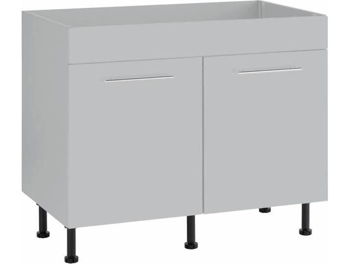 Wiho Kuchen Spulenschrank Ela Breite 100 Cm Grau Furniture
