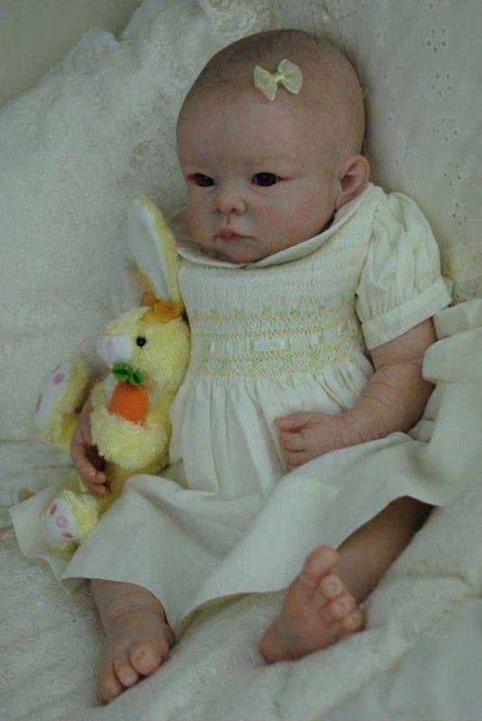 Beautiful realistic baby