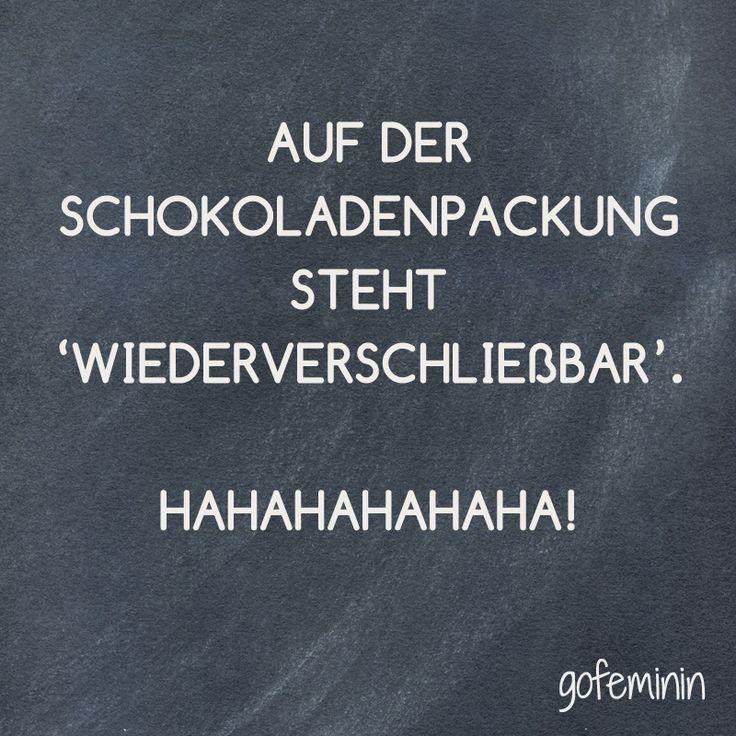 Unser Spruch des Tages! Noch mehr coole Sprüche haben wir für euch auf gofeminin.de!#pintowingofeminin