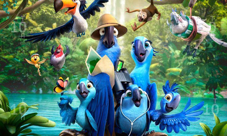 ТОП 10 рейтинг самых кассовых фильмов 2014 10 место в топе занимает - «Рио-2».  Да-да, в этом году в топ попал и мультфильм. Вторая часть красочного и позитивного мультфильма собрала за время своего пребывания в прокате 966.318.642 доллара.