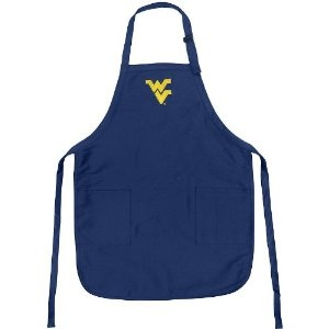 WVU Apron College Logo Blue West Virginia University TOP RATED for Grilling, Barbecue, Kitchen and Cooking Best Unique Gifts for a Man, Men, HIM HER Women, Ladies. GIFT IDEA! (Misc.)  http://documentaries.me.uk/other.php?p=B004CP47OE  B004CP47OE
