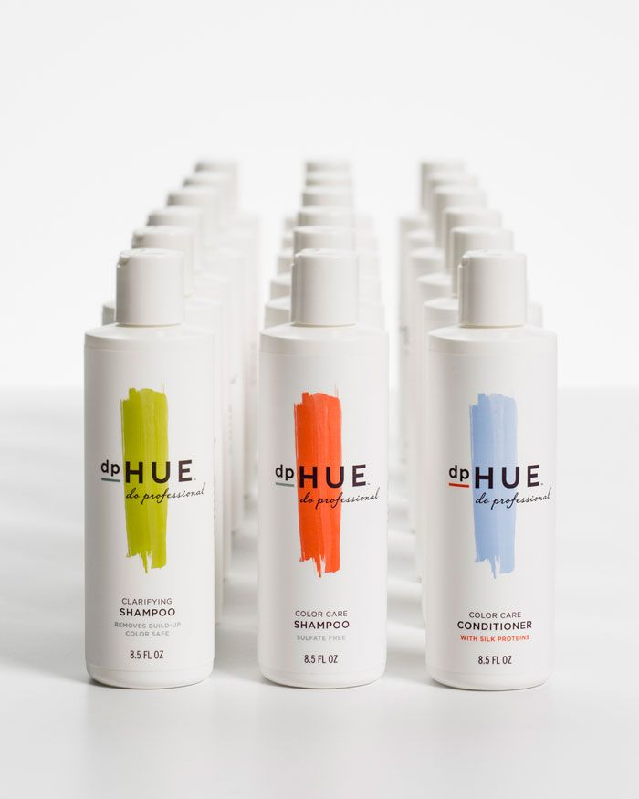 great branding + packaging for a hair coloring co