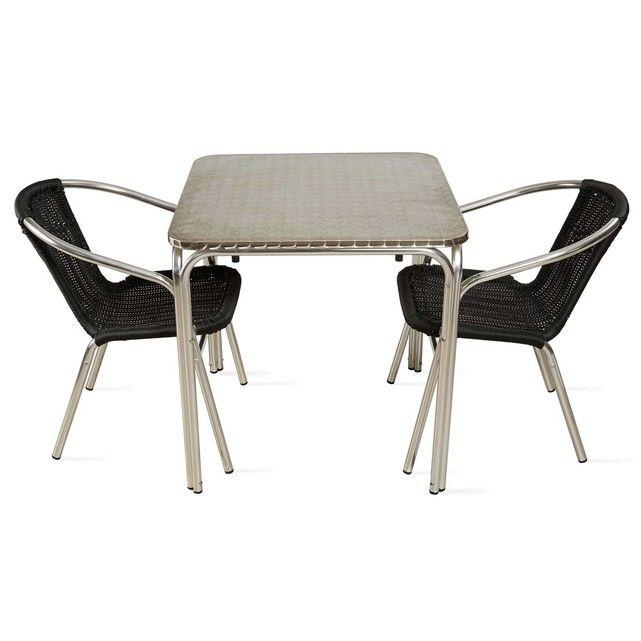 25+ Beste Ideeën Over Table Aluminium Op Pinterest - Houten Tafel