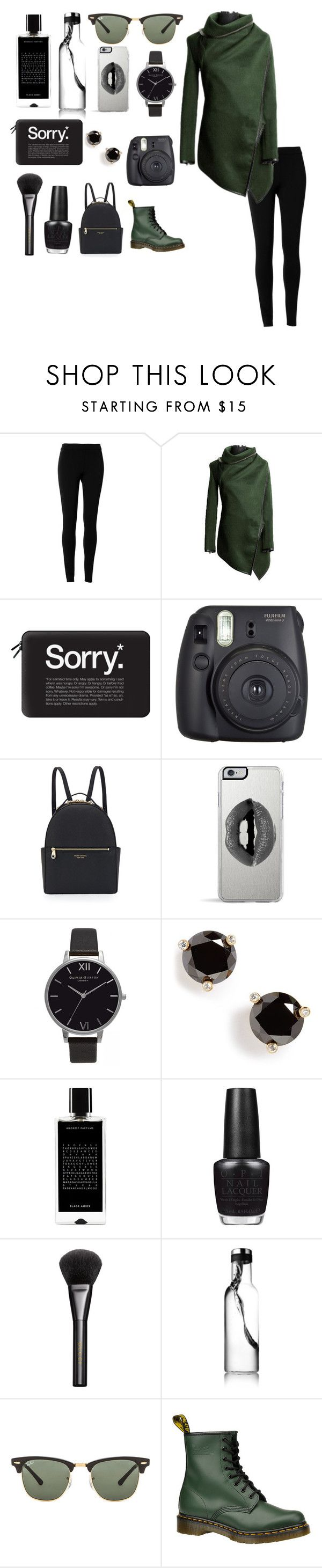"""""""Dope'd  Up"""" by feminstqueen ❤ liked on Polyvore featuring Max Studio, Casetify, Fuji, Henri Bendel, Lipsy, Olivia Burton, Kate Spade, Agonist, OPI and Gucci"""