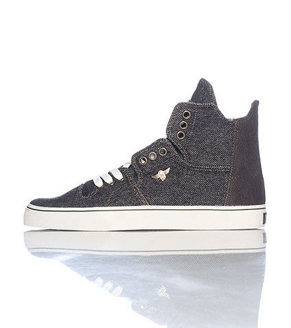 CREATIVE RECREATION High top men's sneaker Honey comb print throughout Lace  closure Signature CREATIVE RECREATION flight