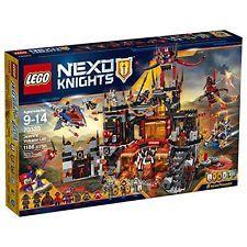LEGO Nexo Knights 70323 BUILDING KIT, Jestro's Volcano Lair Kids LEGO SET