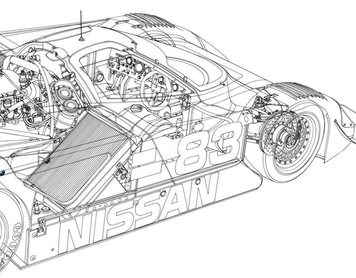 Best Blueprints Images On Pinterest Race Cars Technical - Cool cars engineering