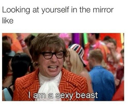 sexy beast, funny, and austin powers image