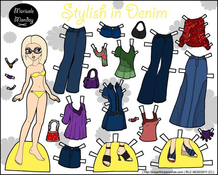 stylish in denim
