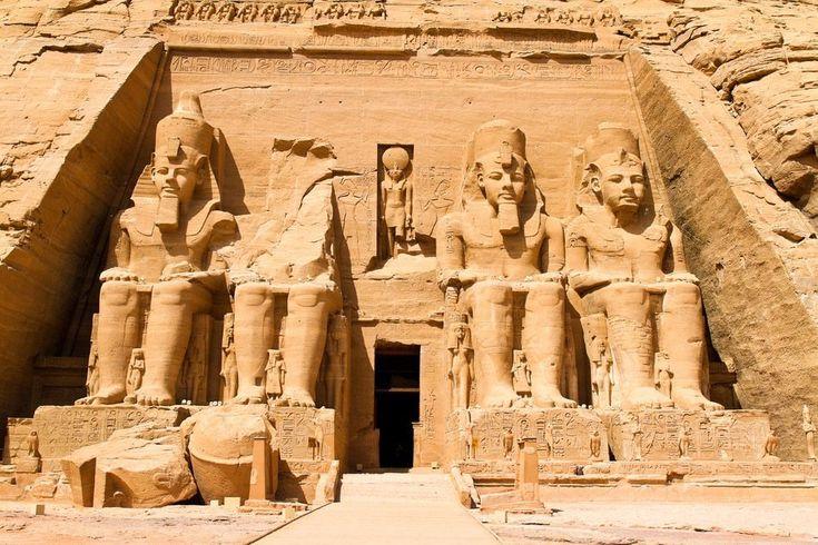 Templos de Abu-Simbel no Egito                                                                                                                                                     Mais
