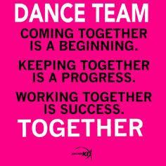Image result for quotes girl dance troupe