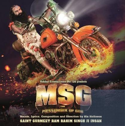 Buy MSG- The Messenger of God Music-CD Online at best price #MSG #MessengerofGod #RamRaheem #Songs #Music