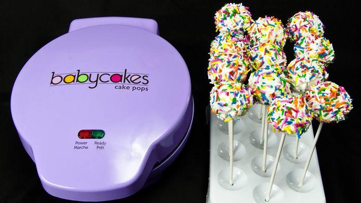 Cake Pops mit dem Babycakes Cake Pop Maker von Cookies Cupcakes und Cardi …   – Cake pops
