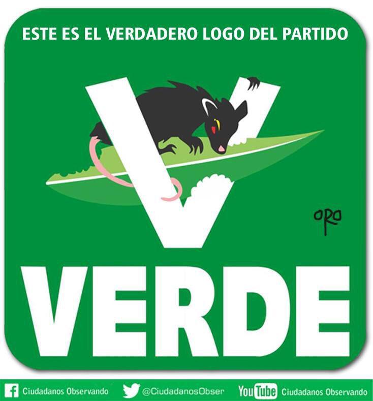 @Oficialmorris: La verdadera Green Card es @partidoverdemex que da pase y mayoría con su 10% al #PRI. #Elecciones2015 http://t.co/1vLuM9vaZI