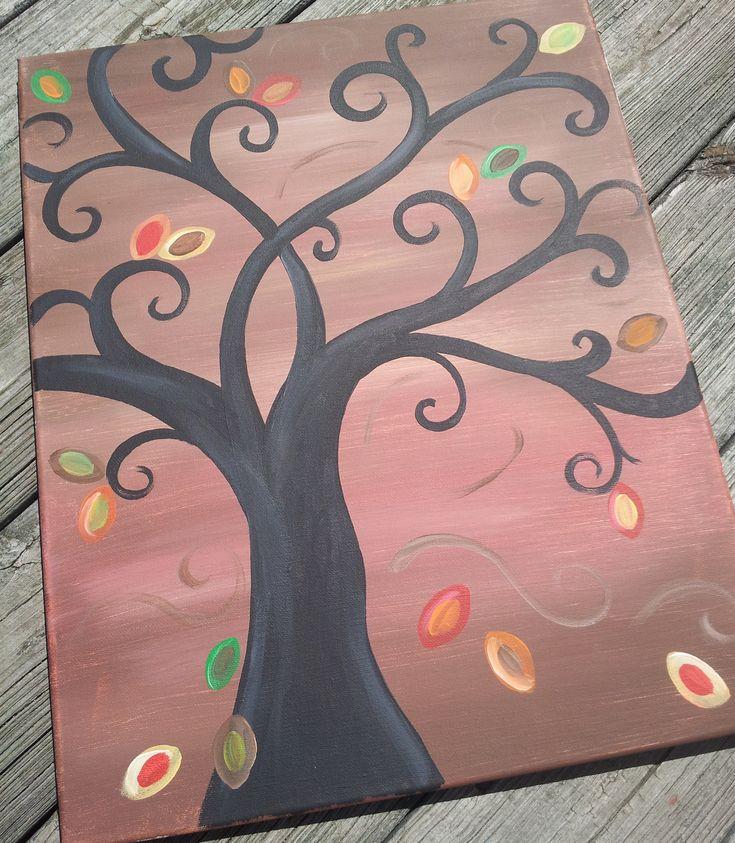 Fall Tree canvas