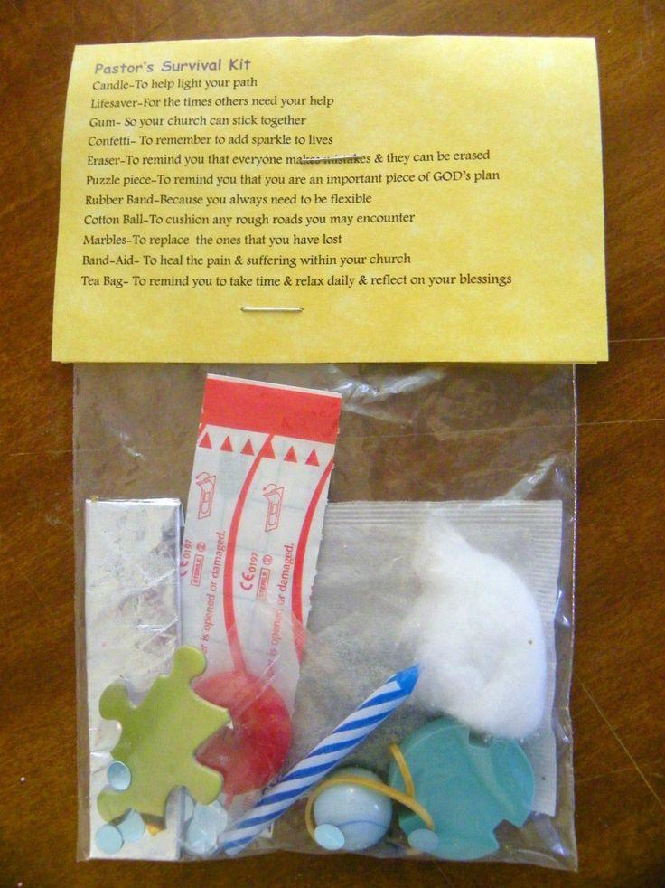 Pastor's Survival Kit 11 Items Inside Novelty Gift | eBay