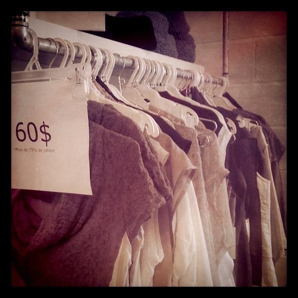 Warehouse sale // Vente d'atelier  #Montreal
