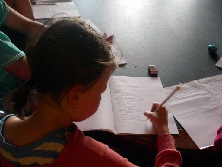 Story Writing, Autumn 2014