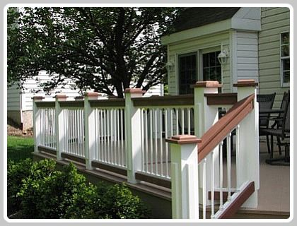 Two Tone Deck Ideas Classic Color Combination In 2019