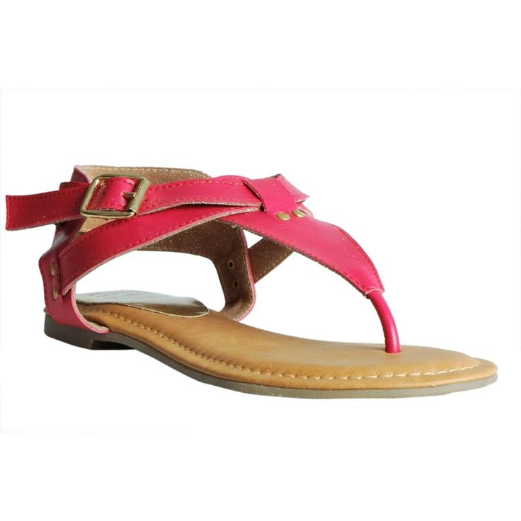 Eve Dior's Magenta Colored Synthetic Flats		 #onlineshopping http://goo.gl/G1Lqdr
